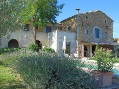 Photo for Luxurious Mas featured in several interior design magazines near Uzes