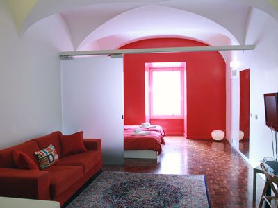 Photo for A Large Designer Flat at few minutes walking from Trevi Fountain
