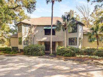 Photo for First floor villa w/ lagoon views from the screened porch - close to Atlantic!