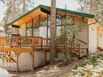 Photo for Bass Lake's Balsam Bungalow- Freshly renovated cabin with all new furniture and bedding, 1 mile from Bass Lake and an easy drive to Yosemite!