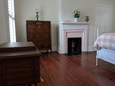 Photo for Sanitized pet-friendly apt two blocks from Historic District in an 1880's home!
