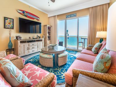Photo for ☀Beachfront for 9☀TOP FL Penthouse!☀️Inspected& Disinfected☀️3BR Calypso 2-2304W