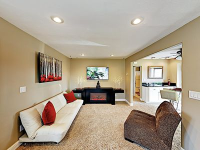 Living Room - Welcome to Paso Robles! This charming casita is professionally managed by TurnKey Vacation Rentals.