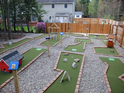 Photo for Adirondack Colonial, Spacious & Elegant, PRIVATE MINI GOLF COURSE !