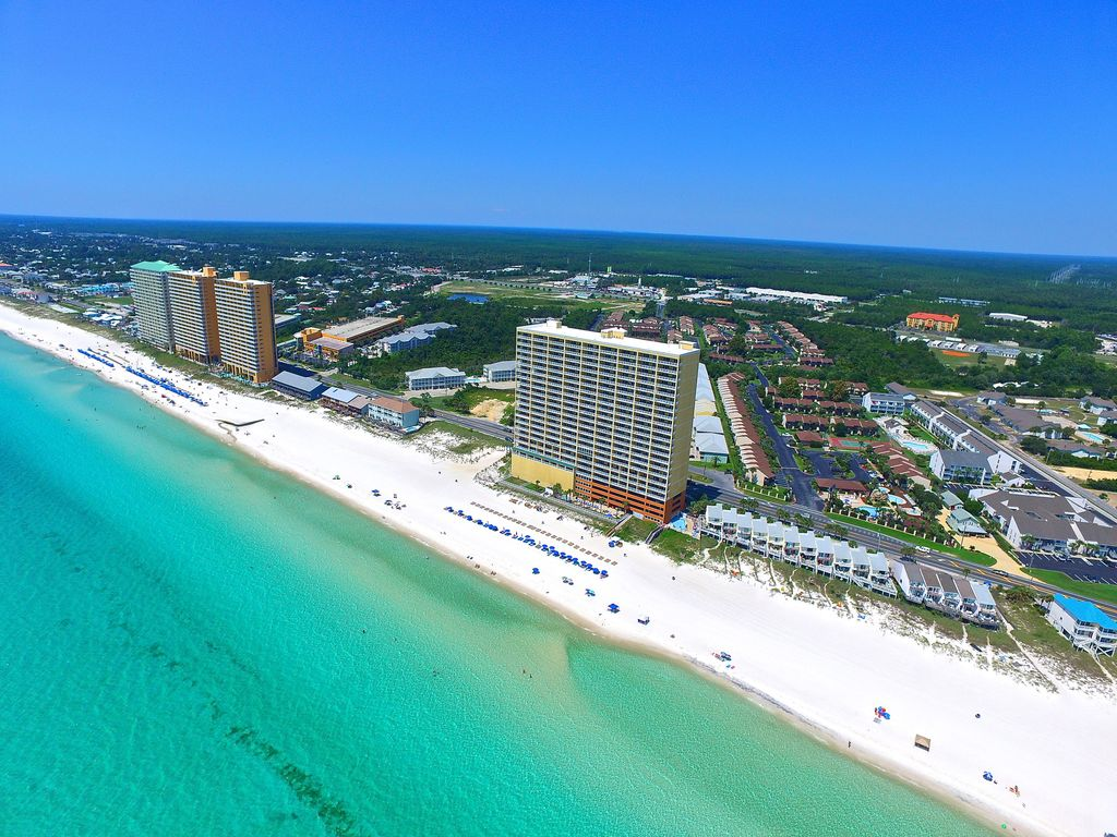 Tropic Winds 1505 Very Nice 2 Bd 2ba Beach Chairs Huge Balcony Pier Park East Panama City Fl