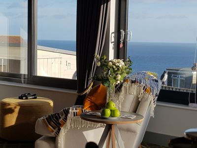 Photo for NEW Boutique Luxury with Stunning Sea Views Free parking & WiFi Close to beaches