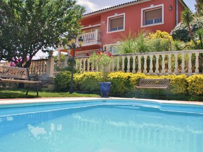 Photo for Country house in Sant Cebrià de Vallalta with Parking, Internet, Washing machine, Pool (961561)