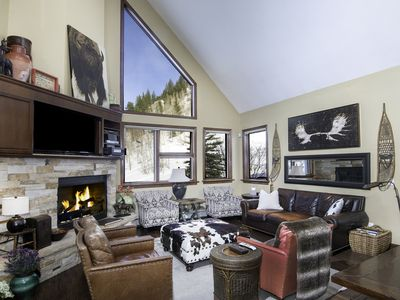 Photo for Vail Mountain Home on National Forest Line Next to Chair 20