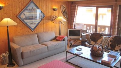 Photo for Apartment on the slopes (100 meters from the Croisette and lift)