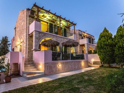 Photo for Villa Just 150m From Stalos Beach Chania