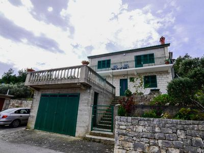 Photo for Three bedroom apartment with balcony and sea view Prigradica (Korčula) (A-15792-a)