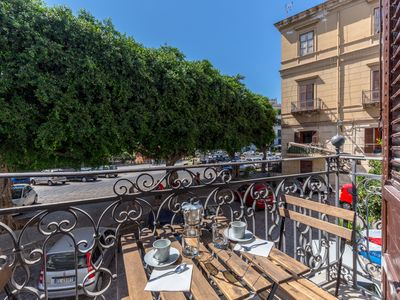 Photo for Loft Piazza Marina - Balcony Equipped with View on the square