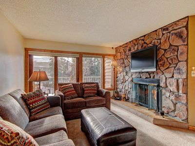 Photo for 1 Block to Main Street!  Ski-in, Indoor Complex Hot Tubs, Gas Fireplace