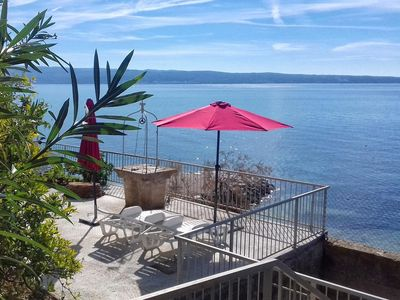 Photo for Two bedroom apartment with terrace Podstrana (Split)