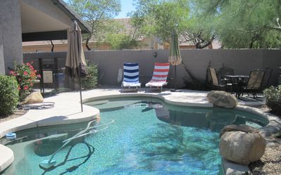 Backyard Oasis with Private Pebble Tec Pool (Not Heated)