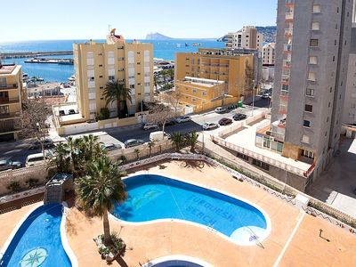 "Photo for Apartment a short walk away (254 m) from the ""Playa Cantal Roig"" in Calp with Lift, Internet, Washing machine, Air conditioning (312966)"