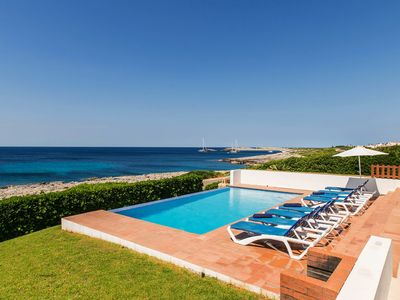 Photo for With Dream View to the Sea and Pool - Villa Arcola