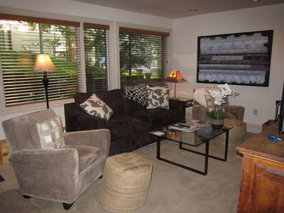 Photo for Immaculate Condo One Block from Aspen Core with Parking, WIFI and Ski Storage