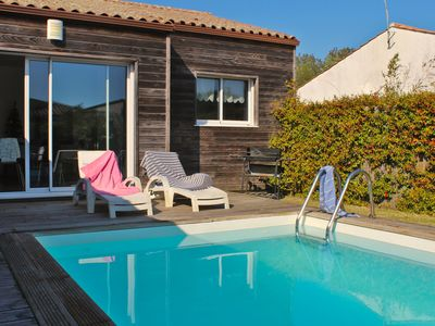 Photo for Villa Cardamine, Nice villa with heated pool, 6 beds and a large livingroom