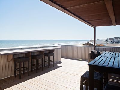 Photo for Endless views! Steps from the Ocean!  Best in Galveston