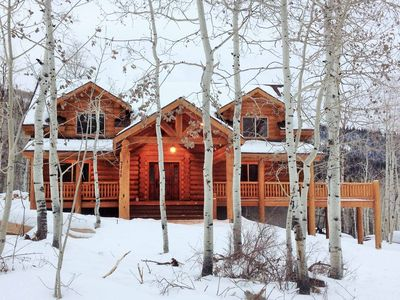 Photo for Mountain Cabin Retreat - Summer, Fall, Holidays and Sundance Film Festival