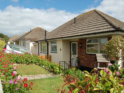 Photo for Lovely bungalow in Teignmouth, Sea Views, Walk to the beach and town shops