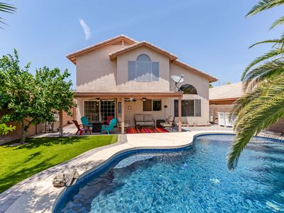 Photo for New to VRBO Chandler Oasis ~ Resort Style Backyard, Private Pool, Prime Location, 4BR/2.5BA