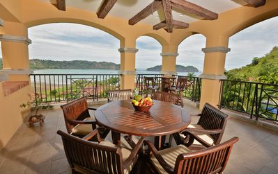 Spacious Terrace with Amazing view of Los Sueños.