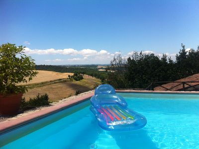 Photo for Private pool and fabulous view in the most peaceful Umbrian retreat
