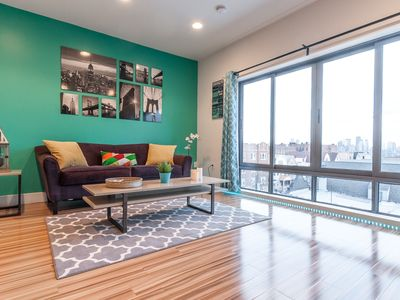 Photo for STUNNING 2BR PENTHOUSE VIEWS - 10 MINS to TIMES SQ