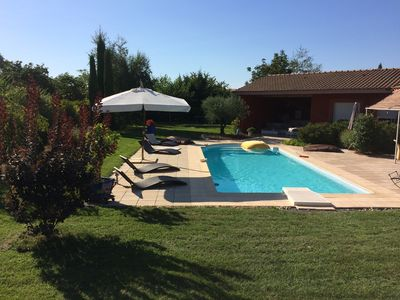 Photo for Large villa with pool near Toulouse