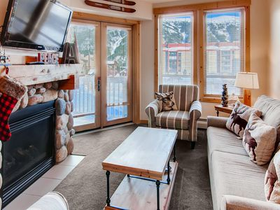 Photo for Luxury 1 Bedroom Condo - Steps from the Lift in Center Village at Copper Mtn
