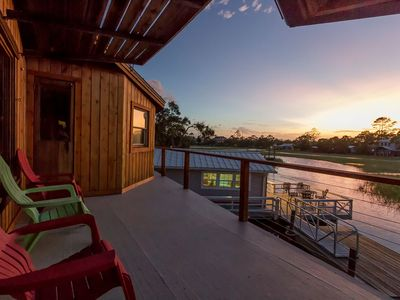 Unique Waterfront Home Amazing Marsh and Creek Views