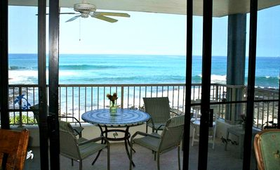 Photo for Oceanfront! King Bed! TV in every room! AC in bedrooms! A17