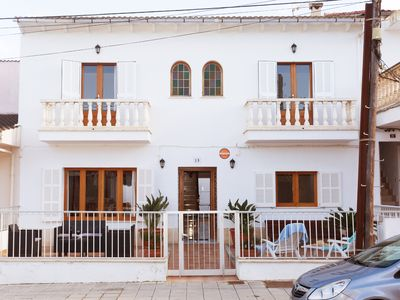 Photo for CAN BIEL. House to 100 meters of the beach of Can Picafort, ideal for families