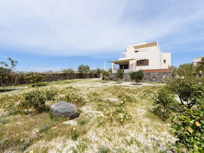 Photo for The House Of Sun, a totally Private Vila in the caldera of Santorini