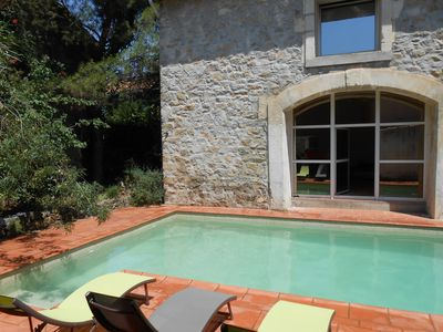 Photo for Double holiday home with private pool, comfort assured for 15 people