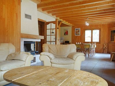 Photo for This 4-bedroom villa for up to 12 guests is located in Saint Gervais and has a private swimming pool