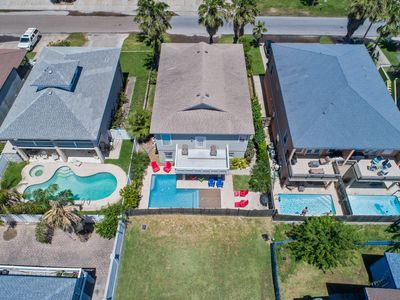 Photo for Private Heated Pool/Private Home/ 1/2 block from beach!