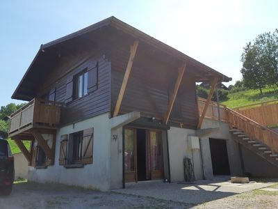 Photo for chalet du brabant 200 meters from the ski slopes