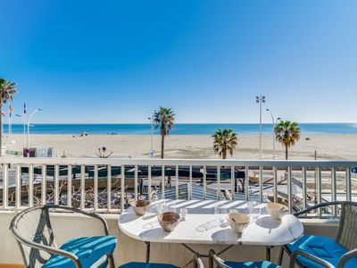 Photo for Apartment Le Miramar in Canet-Plage - 4 persons, 1 bedrooms