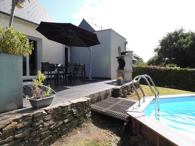 Photo for HOUSE / CLOSE TO SHOPS / PRIVATE HEATED POOL / BEACH 20 MIN / 6 PERS