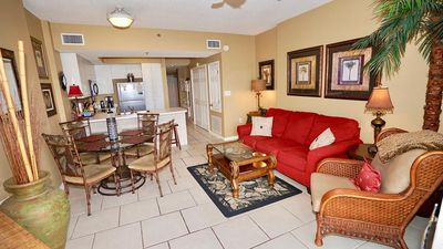 Photo for DIRECT GULF FRONT CONDO, BEAUTIFUL DECOR,  TONS OF FAMILY AMENITIES, CONVENIENT LOCATION