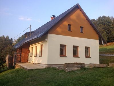 Photo for Holiday house with tiled stove with sleeping accommodation