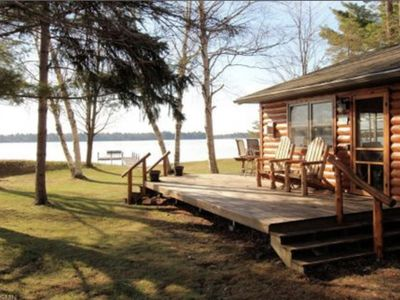 Photo for Lovely Cottage on Crosslake ~ Watch All The Boats Go By Through The Channel!