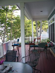 Another view of the front deck