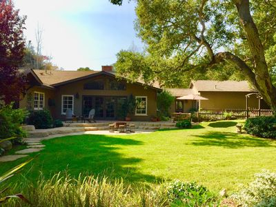Photo for Charming Montecito Family Home walking distance to Butterfly Beach