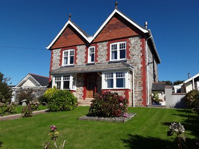 Photo for A Victorian detached house in semi rural location in Cornwall. Wonderful views.