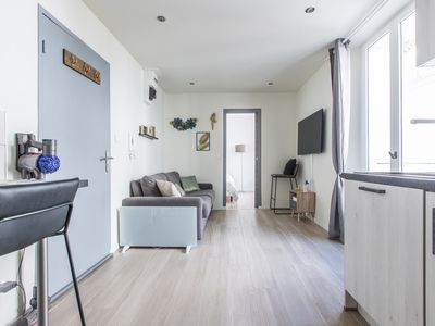 Photo for Cute affordable 1-br minutes from Cannes Center