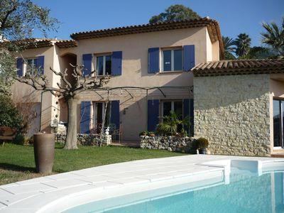 Photo for Villa Val de Cagnes with swimming pool